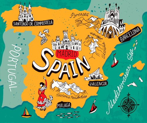 Spain Map CostaCabana Blog - Map of spain